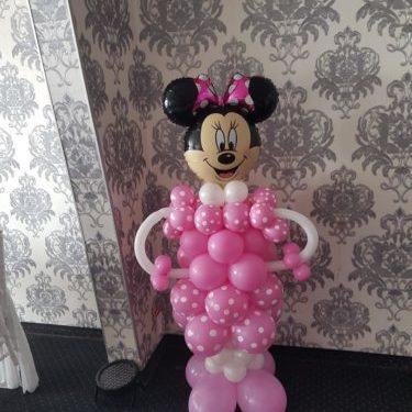 Minnie din baloane 2