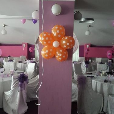 flori din baloane atasate 2