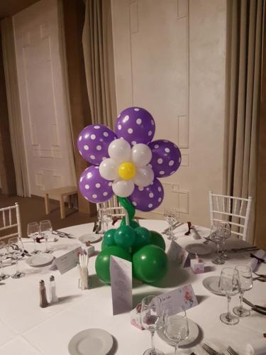 floare din baloane 1