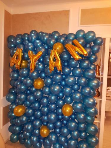 litere si cifre din baloane folie 40 cm  2